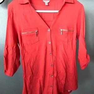 Women's Guess button down blouse